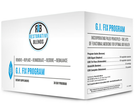 Restorative Blends G.I. FIX for Digestive Health